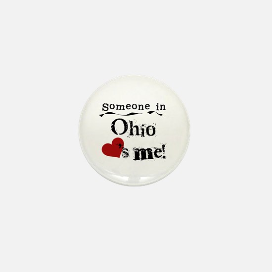 Someone in Ohio Mini Button