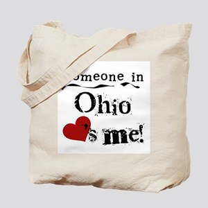 Someone in Ohio Tote Bag