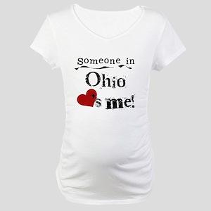 Someone in Ohio Maternity T-Shirt