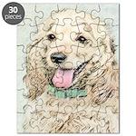Buff Cocker Spaniel Puzzle