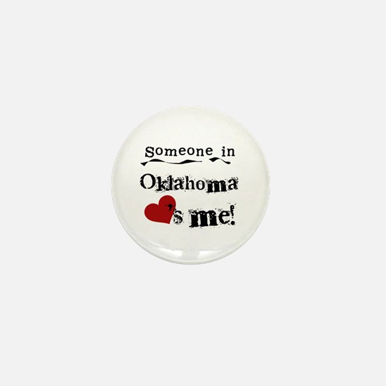 Someone in Oklahoma Mini Button