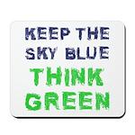 Think Green! Mousepad