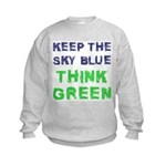 Think Green! Kids Sweatshirt