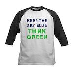 Think Green! Kids Baseball Jersey
