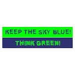 Think Green! Bumper Sticker (10 pk)