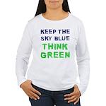 Think Green! Women's Long Sleeve T-Shirt