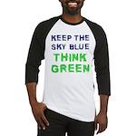 Think Green! Baseball Jersey