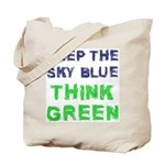 Think Green! Tote Bag