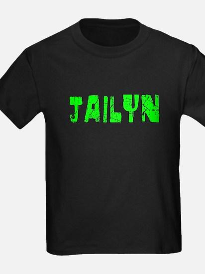 Jailyn Faded (Green) T