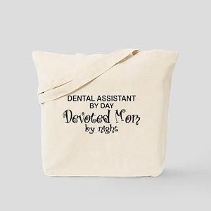 Dental Asst Devoted Mom Tote Bag