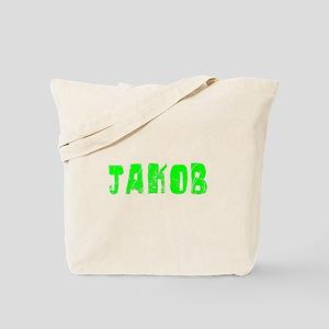 Jakob Faded (Green) Tote Bag