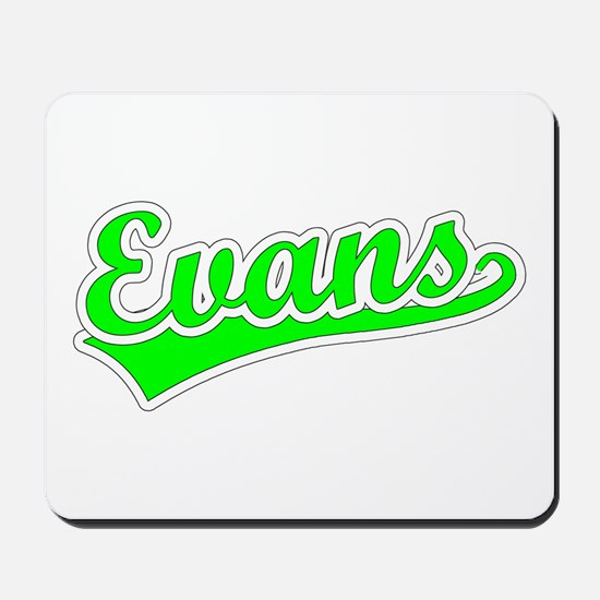 Retro Evans (Green) Mousepad