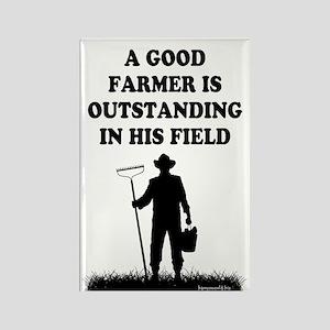 Good Farmer 1 Rectangle Magnet (10 pack)