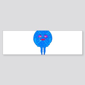 Blue Waffle Bumper Sticker