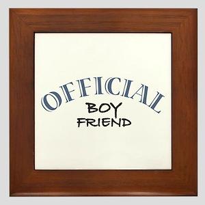Official Boy Friend Framed Tile