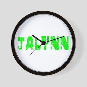 Jalynn Faded (Green) Wall Clock