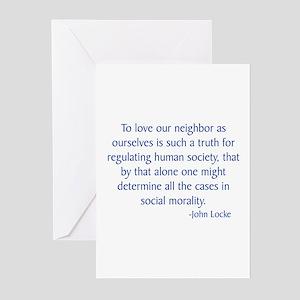 Locke 2 Greeting Cards (Pk of 10)