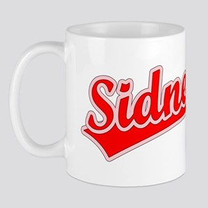 Retro Sidney (Red) Mug