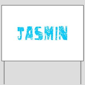 Jasmin Faded (Blue) Yard Sign