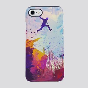 Parkour Urban Obstacle Cours iPhone 8/7 Tough Case