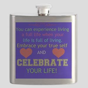 Celebrate Life Flask