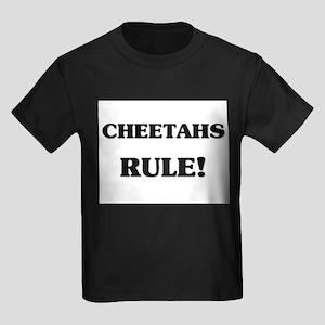 Cheetahs Rule Kids Dark T-Shirt