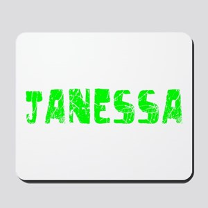 Janessa Faded (Green) Mousepad