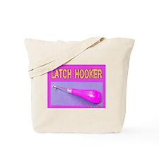 Latch Hooker Rug Maker Tote Bag