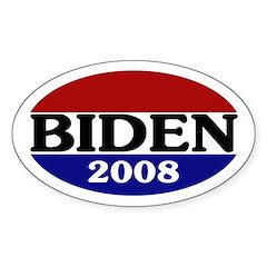 Joe Biden 2008 Oval Decal