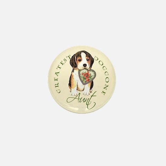 Beagle Aunt Mini Button