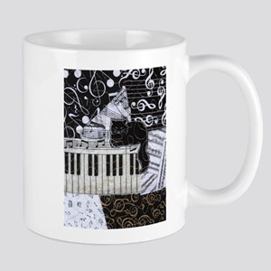 keyboard-sitting-cat-or Stainless Steel Travel Mug