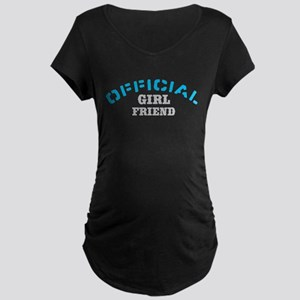 Official Girl Friend Maternity Dark T-Shirt