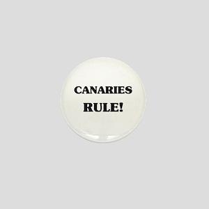 Canaries Rule Mini Button