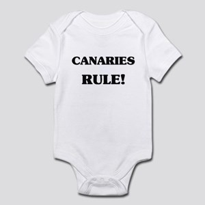 Canaries Rule Infant Bodysuit