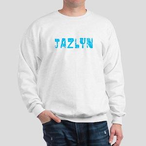 Jazlyn Faded (Blue) Sweatshirt