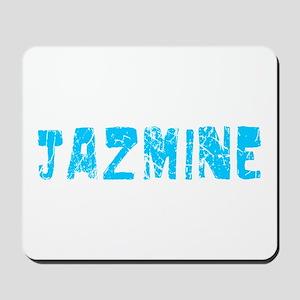 Jazmine Faded (Blue) Mousepad