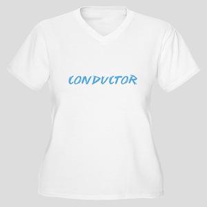 Conductor Profession Design Plus Size T-Shirt