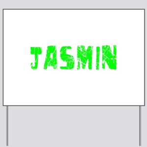 Jasmin Faded (Green) Yard Sign