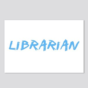 Librarian Profession Desi Postcards (Package of 8)