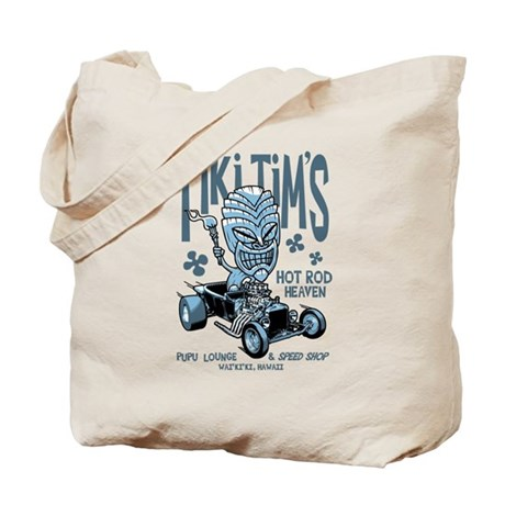 Tiki Tim's Tote Bag