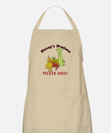 """""""Nosey's Produce"""" BBQ Apron"""