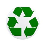 """I Recycle 3.5"""" Button (100 pack)"""