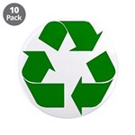 """I Recycle 3.5"""" Button (10 pack)"""