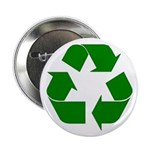 """I Recycle 2.25"""" Button"""