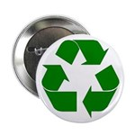 """I Recycle 2.25"""" Button (100 pack)"""