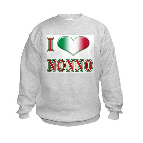 I love nonno Kids Sweatshirt