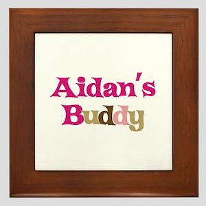 Aidan's Buddy Framed Tile