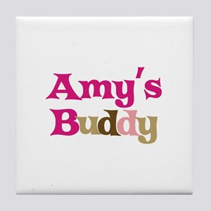 Amy's Buddy Tile Coaster