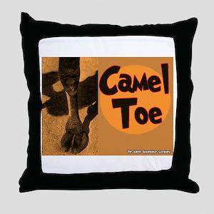 Camel Toe Throw Pillow