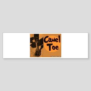 Camel Toe Bumper Sticker